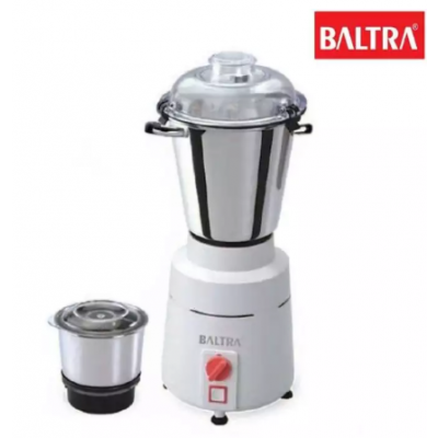 Baltra BMG-105 High Speed 1100-Watt Mixer Grinder with 2 Jars (White)