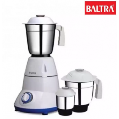 Baltra BMG-129 COZY 2 Jars 500W Mixer Grinder - (White)