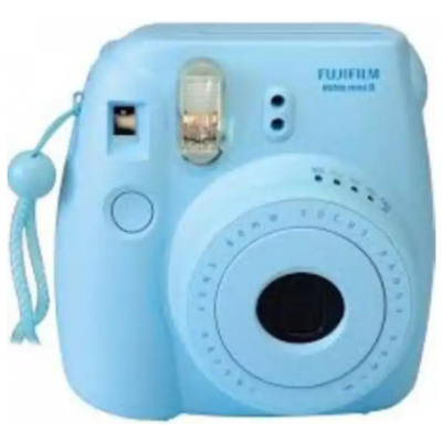 Fuji 16550631 Instax Mini 9 Instant Camera - (Ice blue)