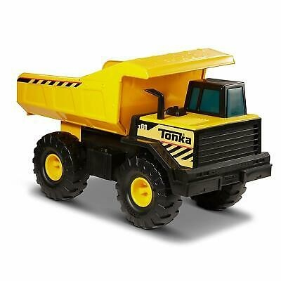 Yellow Heavy Duty Truck Toy For Kids