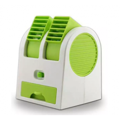 USB Air Conditioner Shaped Mini Cooler Fan