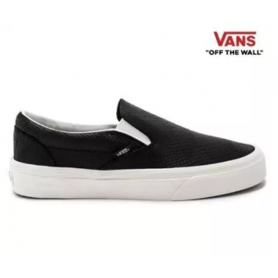 Vans Black Vn0A38F7Os3 Classic Slip-On Sneaker For Men