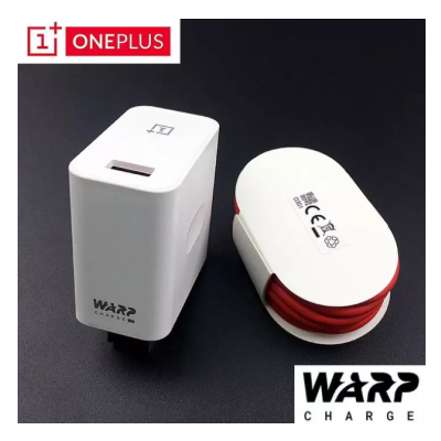 Genuine OnePlus 'WC0506A1HK' Warp Charger 30w Power Adapter with Type-C USB Cable for 7/7pro, 7T/7T pro