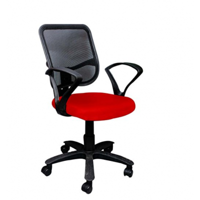 Net Back Office Chair Red