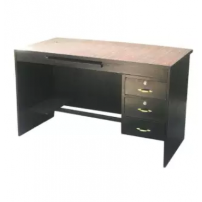 Black Wooden Office Table