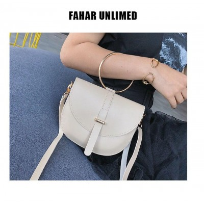 New Design Fashion Semi-circle Packet Simple Bag