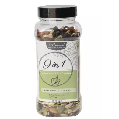 Morsel 9 in 1 Nuts, Seeds & Dried Fruits 250gms