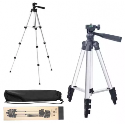 3110 Tripod Stand For DLSR Camera With Mobile Holdera