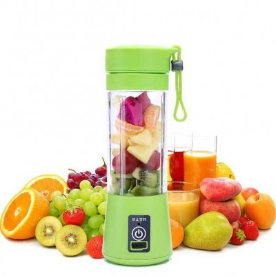 380ml Blades Mini USB Rechargeable Portable Electric Fruit Juicer Smoothie Maker Blender Machine Sports Bottle Juicing Cup Juicers