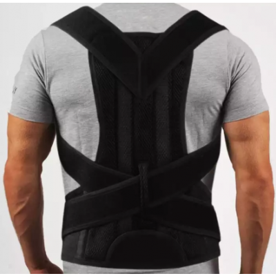 Magnetic Corset Posture Corrector Clavicle Fracture Support Back Shoulder Correction Brace Belt