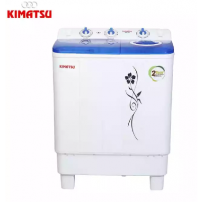 Kimatsu Twin Tub Washing Machine 7kg