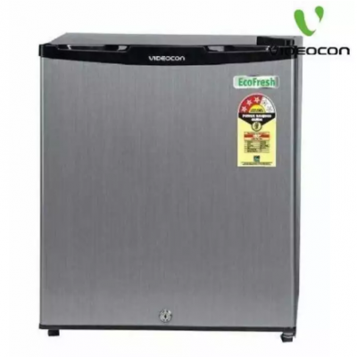 VIDEOCON 063SH 50L Single Door Mini Refrigerator- Grey