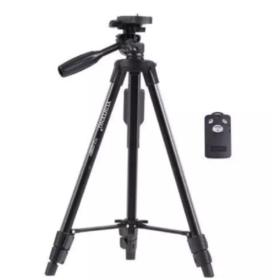 Yunteng YT-5208 Tripod For Camera And Mobile-Black