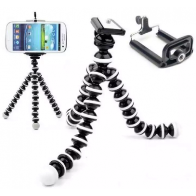 Gorilla Octopus Fully Flexible Foldable Camera & Mobile Tripod Stand Z-02