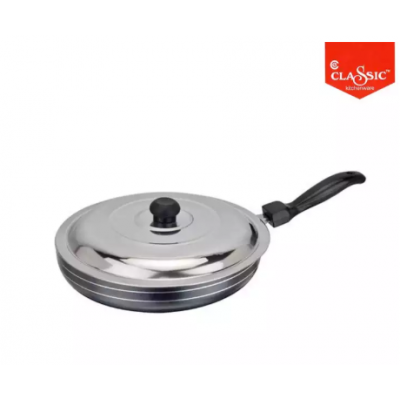 Classic Cookware Non Stick Fry Pan With SS Lid 220 mm