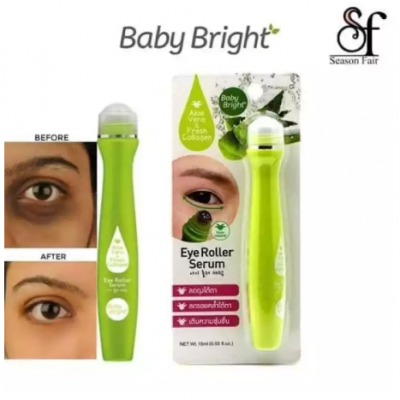 Aloevera & Collagen Eye Roller Serum For Dark Circles & Puffy Eyes