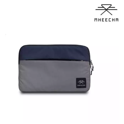 "Mheecha Crony Sleeve 13.5"" (Grey/Navy Blue)"
