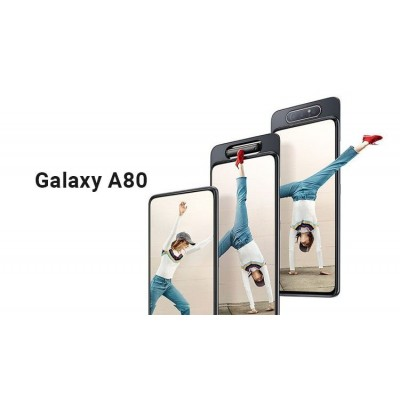 Samsung Galaxy A80 With Flipping Camera 8 GB RAM 128 GB ROM