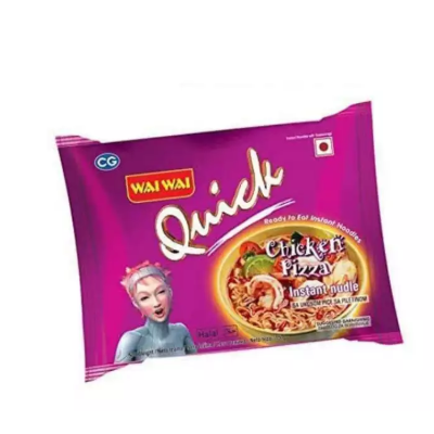 Wai Wai Quick Chicken Pizza Noodles, 70 Gm