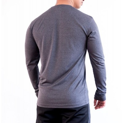 Yala Wears Grey Men's Long Sleeve Tee
