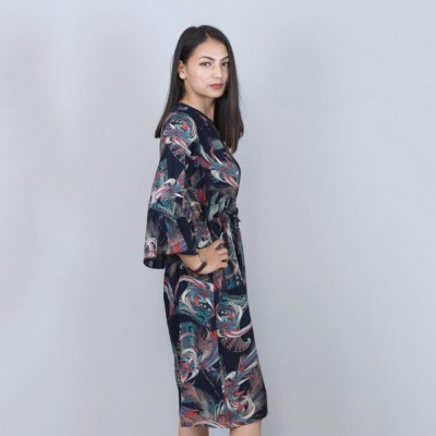 Floral Printed One Piece Dress For Women By Nyptra