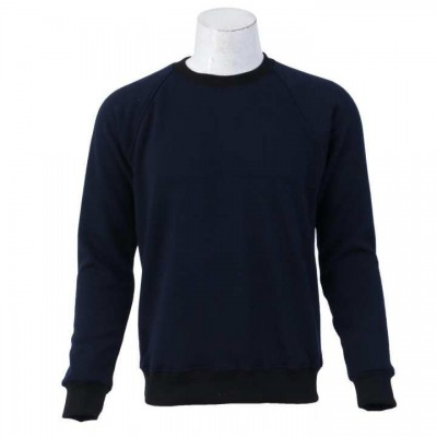 J.Fisher Solid Velvet Fleece Sweatshirt For Men