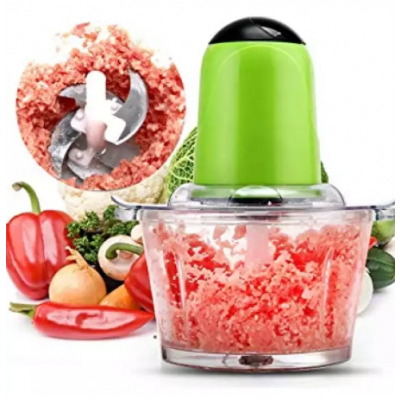 Meat Grinder Multi - Functional Electric Infant Food Machine Food Cooking Machine Juice Juicer Mixer Home,Green
