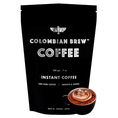 Colombian Brew Pure Instant Coffee Strong, 200g