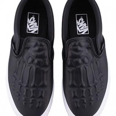 Vans Classic Slip-On X-Ray Bones Shoes for Men