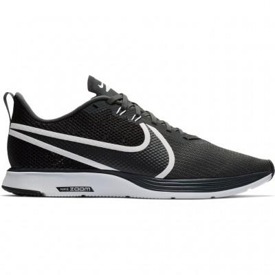 Nike Black Zoom Strike 2 Running Shoes For Men