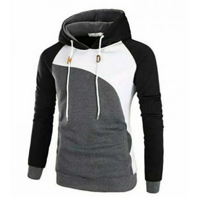 Men's Fashionable Fleece Stylist Hoodie Men's Sweatshirt Pullover Design For Winter