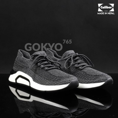 Caliber Shoes Brown / Grey Ultralight Sport Sneakers For Men - ( Gokyo 765 )