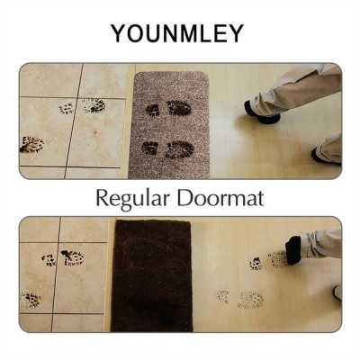 Super Absorbs Doormat Latex Backing Non Slip Door Mat