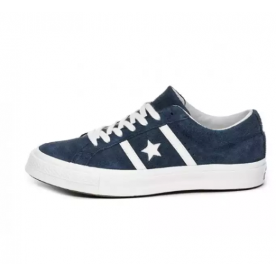 Converse One Star Ox Low Suede Blue Sneakers for Men