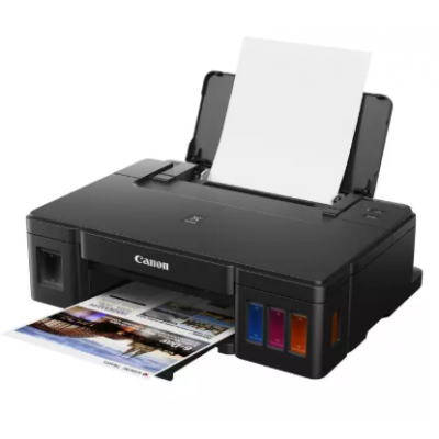 Canon Pixma G1010 Single Function Inkjet Printer - (Black)