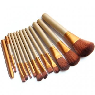Luxury Makeup Foundation Brush - Set of 12