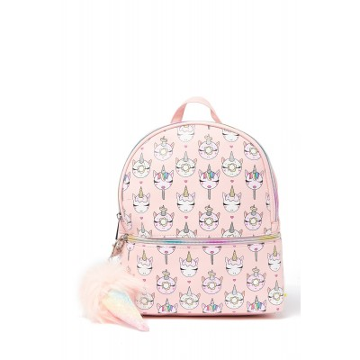Printed Front Flip Backpack For Women