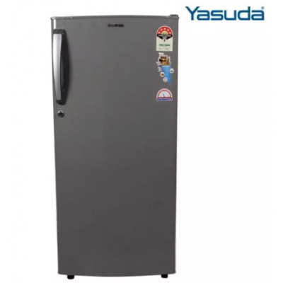 Yasuda 170 Ltr Single Door Refrigerator YVDR170SG-HDS - Grey