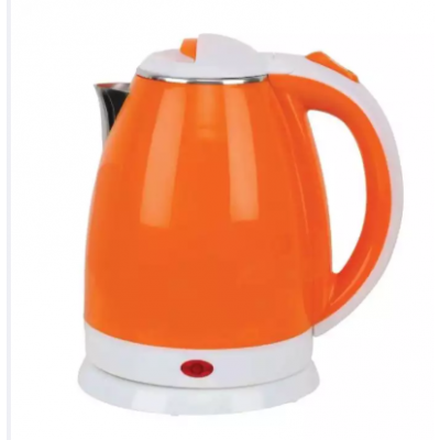 Plastic/Steel Electric Kettle (1.8Ltr)