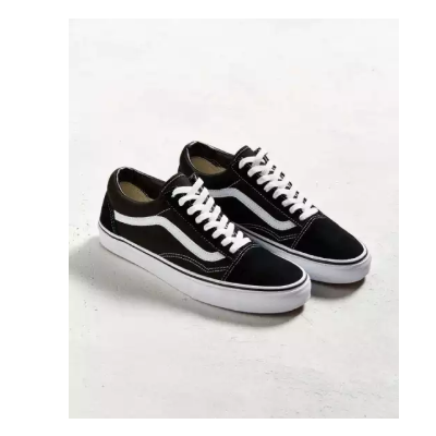 Vans Black/White VN000D3HY28 Old Skool Lace Up Shoes (Unisex) - 7201