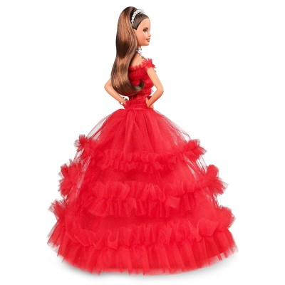 Barbie Red 2018 Holiday Doll