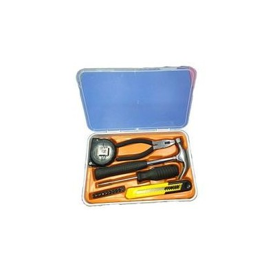 Yellow 5 In 1 Tool Box With 10 Different Screwdrivers