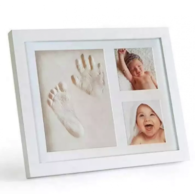 Baby Footprint Hand-Print Frame Kit