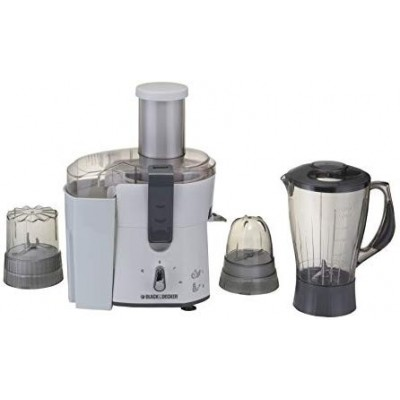 Black & Decker Food Processor With Blender & Grinder- White