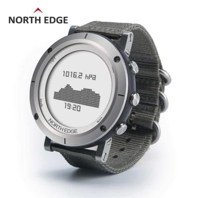 North Edge Range 2 Wrist Altimeter Watch - Grey