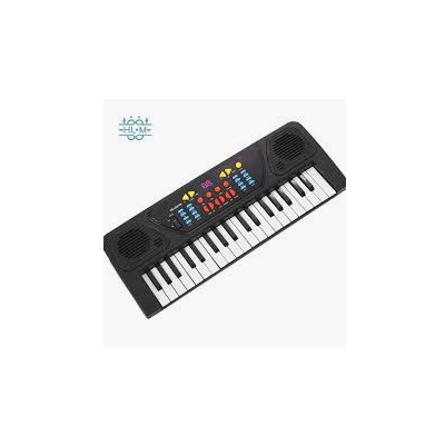 Black/White Electronic Piano For Kids