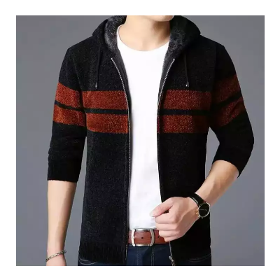 Korean Style New Hooded Sweaters For Men