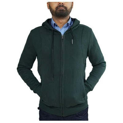Zip up hoodie for men ( blue)
