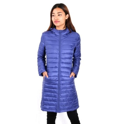 Blue Down Jacket For Women
