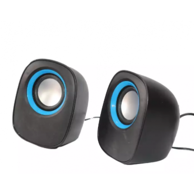 D-05 5W Mini Digital Speaker - Black/Blue